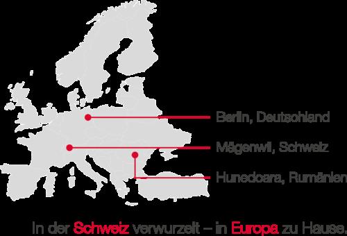 hadimec - Standorte EU