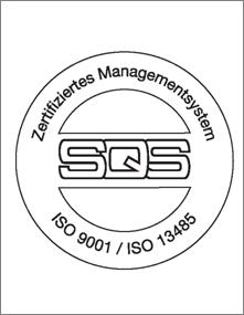 SQS - ISO Zertifizierung - hadimec Mägenwill